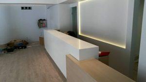 Επιπλα ρεσεψιόν ξενοδοχείο Lihnos στην Πάργα