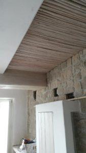 Επιπλα ξενοδοχείου : ξύλινη κατασκευή επένδυση οροφής -2