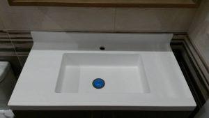 Corian νεροχύτης μπάνιου