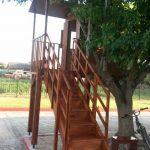 Δεντρόσπιτο ξύλινη κατασκευή