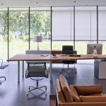 Μοντέρνο απλό γραφείο