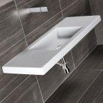 Νεροχύτης μπάνιου corian