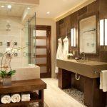 Επιπλα μπάνιου σε σκουρη απόχρωση
