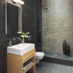 Επιπλο νεροχύτη μπάνιου με ράφια για πετσέτες