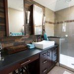 Επιπλο μπάνιου σε σκούρη απόχρωση
