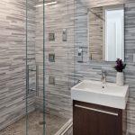 Μοντέρνο έπιπλο για νεροχύτη μπάνιου με ντουλάπια