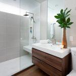 Μοντέρνο έπιπλο νεροχύτη μπάνιου
