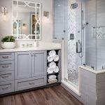 Επιπλο μπάνιου σε χρώμα ανοιχτό γκρι