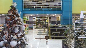 Επιπλα καταστημάτων θεσσαλονίκη αρωματοπωλείο κεντρική είσοδος