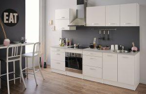 Ετοιμη λευκή σύνθεση κουζίνας - μοντέλο Robles