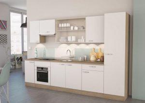 Ετοιμη σύνθεση κουζίνας Adela - Λευκή